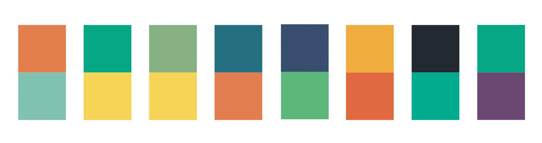 Color Schemes for Animal ABC